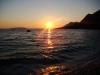 Západ slnka Gradac Chorvátsko