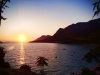 Sunset Croatia Gradac