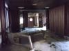 Rozpadnutý hotel na konci Gradacu