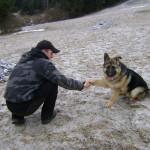 Nemecký ovčiak a psia láska