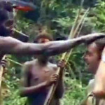 Stretnutie domorodcov s bielym človekom