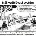 Škola učí, ale nevzdeláva