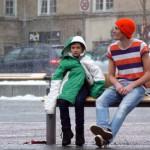 Ako sa zachováte keď vidíte dieťa mrznúť na ulici?
