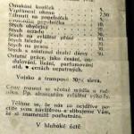 Historický cenník z Bordelu v Prahe (1932) Toto ste ešte nevideli :D