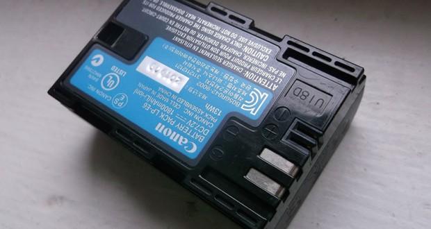 Ako opraviť nabíjanie batérie Canon LP-E6