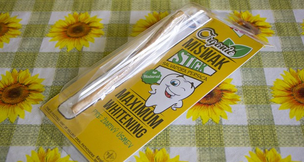 Video recenzia – Organic Miswak STICK